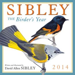 2014 Sibley: The Birder's Year Wall Calendar