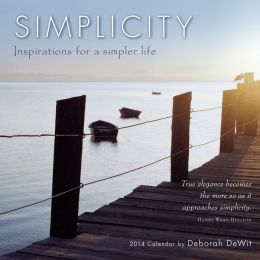 2014 Simplicity Mini Wall Calendar