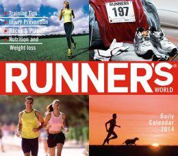 2014 Runner's World Boxed Daily Calendar
