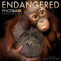 2015 Endangered: Photo Ark Wall Calendar