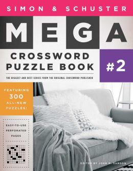 Simon and Schuster Mega Crossword Puzzle