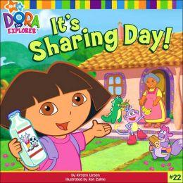 Dora It's Sharing Day (Dora the Explorer Series)