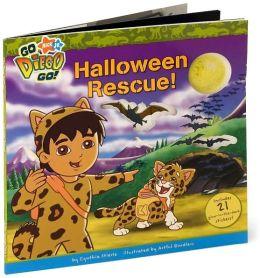 Halloween Rescue! (Go, Diego, Go! Series)