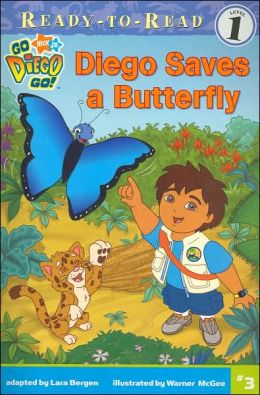 Diego Saves a Butterfly (Go, Diego, Go! Ready-to-Read Series)