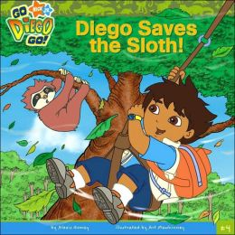 Diego Saves the Sloth! (Go, Diego, Go! Series)
