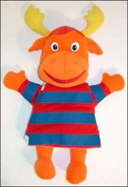 Meet Tyrone!: A Hand-puppet Cloth Book