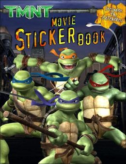 TMNT Movie Sticker Book