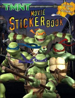 TMNT Movie Sticker Book
