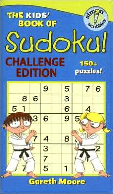 Kids' Book of Sudoku: Challenge Edition!