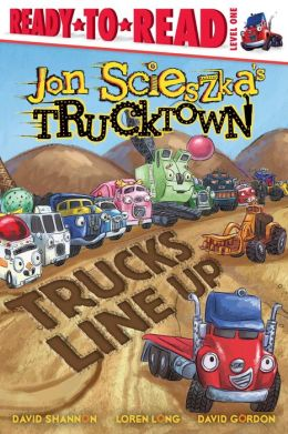 Trucks Line Up (Trucktown Ready-to-Roll Series: Level 1)