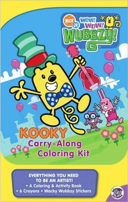 Kooky Carry-Along Coloring Kit (Wow! Wow! Wubbzy! Series)