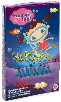 Let's Get Moving Carry-along Coloring Kit