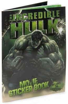 Incredible Hulk Movie Sticker Book