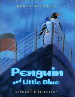 Penguin and Little Blue