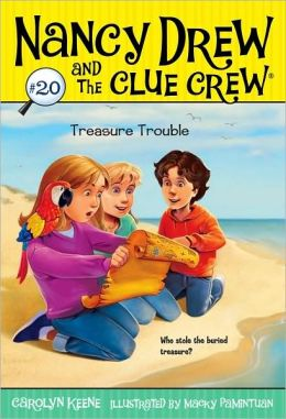 Treasure Trouble (Nancy Drew and the Clue Crew Series)
