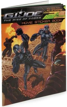 G.I. Joe: The Rise of Cobra: Movie Sticker Book (G.I. Joe Movie Series)