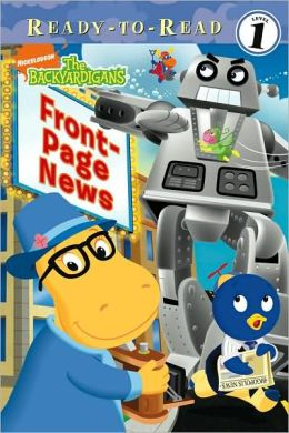 Front-Page News (Backyardigans Ready-to-Read Series)