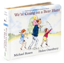 We're Going on a Bear Hunt: Anniversary Edition (Classic Board Books Series)