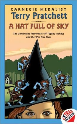 A Hat Full of Sky: The Second Tiffany Aching Adventure (Discworld Series #32) (Turtleback School & Library Binding Edition)