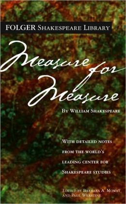 Measure For Measure (Turtleback School & Library Binding Edition)