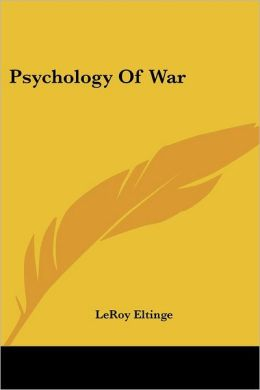 Psychology Of War
