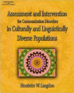 Assessment & Intervention for Communication Disorders in Culturally & Lingu