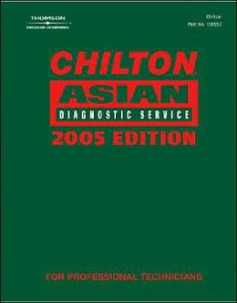 Chilton 2005 Asian Diagnostic Service Manual: (1990-2003)
