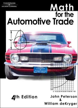 Math for the Automotive Trade