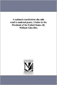 A National Constitution