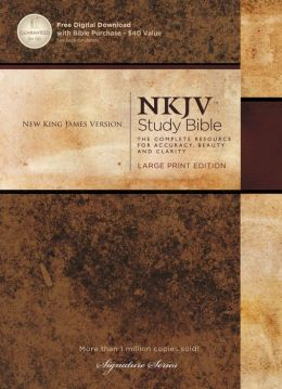 The NKJV Study Bible: Large Print Edition