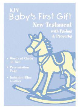 KJV Baby's First Gift New Testament