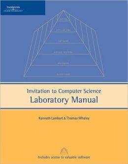 Invitation to Computer Science Lab Manual