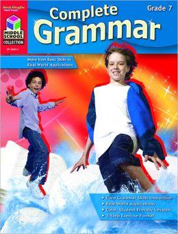 Complete Grammar: Reproducible Grade 7