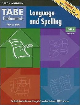 Steck-Vaughn TABE Fundamentals: Student Edition Language and Spelling, Level M