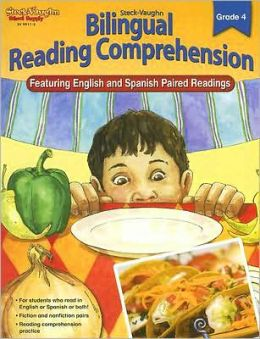 Steck-Vaughn Bilingual Reading Comprehension: Reproducible Grade 4