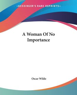 Woman of No Importance