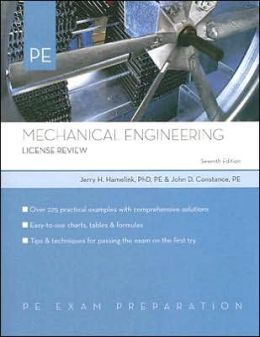 Mechanical Engineering: License Review
