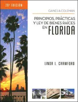 Principios, Prácticas y Ley de Bienes Raíces en Florida