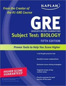 Kaplan GRE Subject Test: Biology