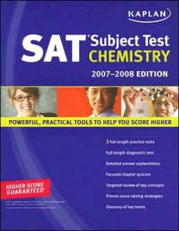 Kaplan SAT Subject Test: Chemistry, 2007-2008 Edition