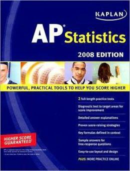 Kaplan AP Statistics, 2008 Edition