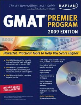 Kaplan GMAT 2009 Premier Program (w/ CD-ROM)