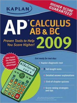 Kaplan AP Calculus AB & BC 2009