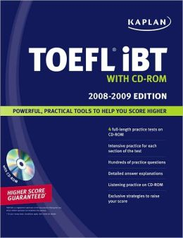 Kaplan TOEFL iBT with CD-ROM 2008-2009