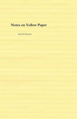 Notes on Yellow Paper