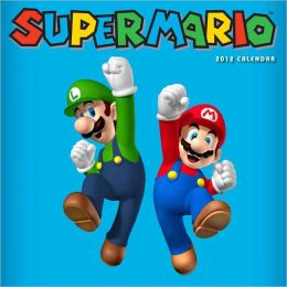 Super Mario Brothers 2012 Wall Calendar