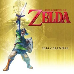 The Legend of Zelda 2014 Wall Calendar