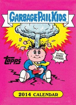 Garbage Pail Kids 2014 Wall Calendar