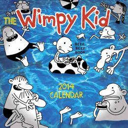 The Wimpy Kid 2014 Wall Calendar