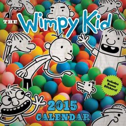 Wimpy Kid 2015 Wall Calendar
